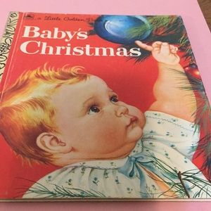 Little Golden Book, Baby's Christmas, collectible